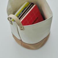 Canvas Bucket +short  handle
