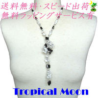 マグネット 磁石 アクセサリー ネックレス ブレスレット ホワイト va0073