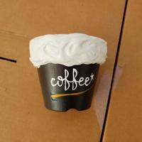 @aikooogalleryさん リメ鉢 コーヒー