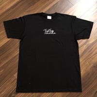 ロゴTシャツ Black/White