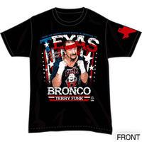 テリー・ファンク オフィシャルTシャツ テキサス・ブロンコ 2015