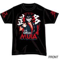 ザ・グレート・ムタ オフィシャルTシャツ「忍炎」