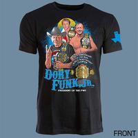 ドリー・ファンクJr. NWA世界ヘビー級王座獲得50周年記念Tシャツ / 初回特典付き
