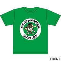 ケンドー・カシン キャラクターTシャツ Designed by HARIKEN 【GREEN】