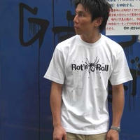 Rot'n Roll(蜘蛛とガイコツのイラスト)ホワイト