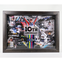 IndyCar Series 10th Anniversary Memorial Photo Frame