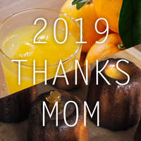 THANKS MOM GIFT2019 (なるとオレンジのジュウースとシロップとカヌレのセット) 【5/10発送】