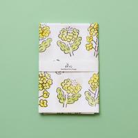 【手拭い】菜の花 / ブロックプリント