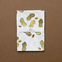 【手拭い】ピーナッツ / ブロックプリント
