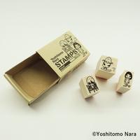 奈良美智「Nara STAMP」Sサイズ(3点セット)