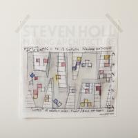 STEVEN HOLL展 ハンカチ(Gray)