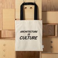建築倉庫オリジナル メッセージトートバッグ(White)