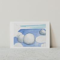 STEVEN HOLL展 ポストカード( Light blue)