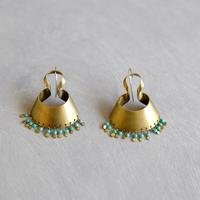 bobo (S) brass pierce -turquoise-