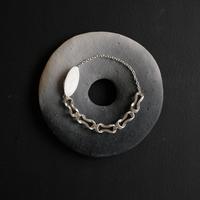 Black moor (S) 5 piece Silver Bracelet