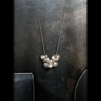 ヤマノイモのタネ 7粒 necklace