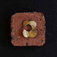 Petal brass earcuff