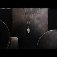アサツキのつぼみ  Silver Necklace