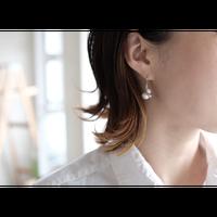 ヤマノイモのタネ S pierce (片耳)