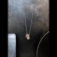 ヤマノイモのタネ 2粒 necklace
