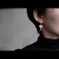 ヤマノイモのタネ 2粒 pierce (片耳)