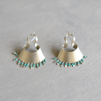bobo (S) silver pierce -turquoise-