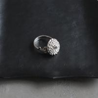kiku (M) silver ring