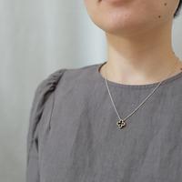 clover brass necklace