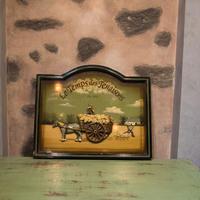 フランスアンティーク 立体的な飾りパネル