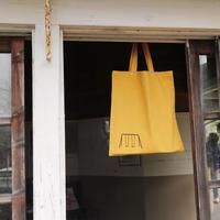 染め鞄(黄色 / 生豆)