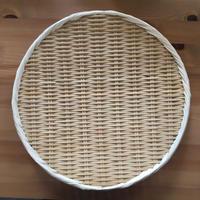 九州産丸盆ザル33cm