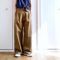 Tuck  wide  pants No.9182301