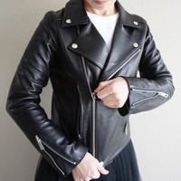 THOMAS MAGPIE Lamb leather  riders jacket                             No.2193501