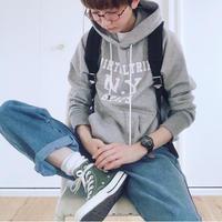 THOMAS MAGPIE  Fooded  sweatshirt                       【VIRTUAL TRIP  N.Y  HEAPS】  No.2183801