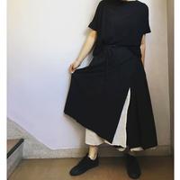 ao daikanyama     ボイルガーゼリバーシブルスカート