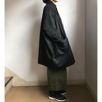 ウールマーケットジャケット ピンストライプ・ブラック