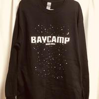 BAYCAMP 10TH 記念ロングTシャツ( 黒)
