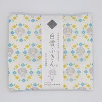 mizutama 白雪友禅ふきん お花柄(ブルー)