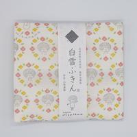 mizutama 白雪友禅ふきん お花柄(ピンク)
