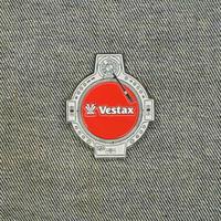 エナメルピンバッジ (VESTAX QFO)(Jesse Dean Designs)