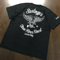 SWINGER_Three River Finest Tee_[Black]