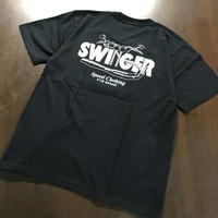SWINGER_T-BAR LOGO Tee_[Black]
