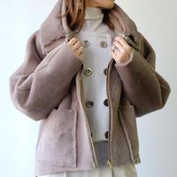 RITSUKO SHIRAHAMA フェイクムートンコート 9251350