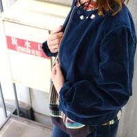 RITSUKO SHIRAHAMA ベルベットデニムジャケット 9271380
