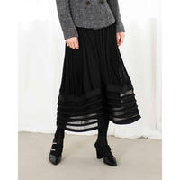 RITSUKO SHIRAHAMA ニットデザインスカート 5257070