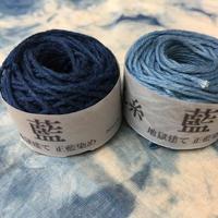 Snow  hand made こぎん糸 藍