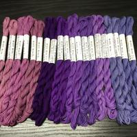 津軽こぎん糸 紫系