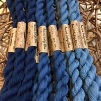 藍染 刺し子糸
