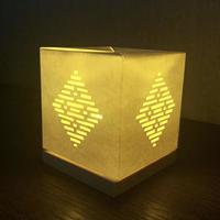光るこぎんランプシェード製作キット初級① 結び花