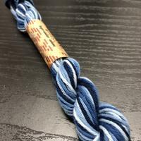藍染 こぎん糸グラデーション 太め